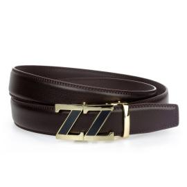 Men's brown belt HX0080