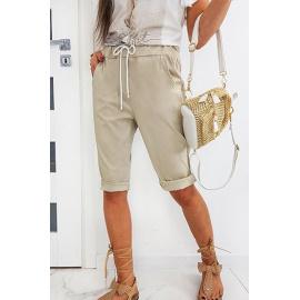 Beige SIMONS women's shorts SY0156
