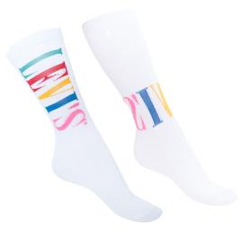 2PACK ponožky Levis bílé (903029001 011)